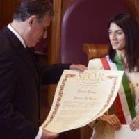 Il pm Di Matteo cittadino onorario di Roma. Raggi: