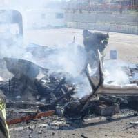 Civitavecchia, incendio a roulotte in ex area Feltrinelli: denunciato responsabile