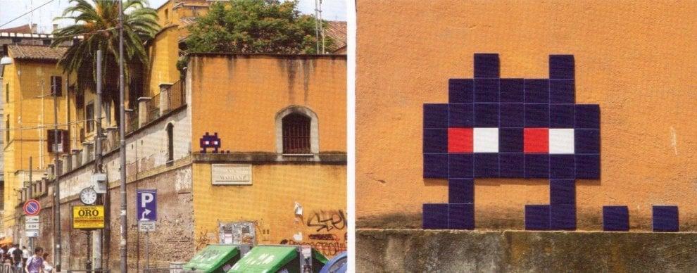 Street art, spariti i mosaici dei marziani di Invader