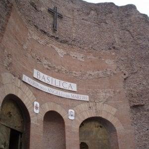 Roma, agente fuori dal servizio sventa furto nella basilica di Santa Maria degli Angeli