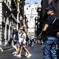 Terrorismo, nuove barriere anti-van in via del Corso e ai Fori