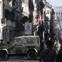 Anti-terrorismo, a Roma centro blindato in attesa delle fioriere