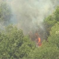 Incendi Reatino, ancora roghi sul Monte Giano. E la procura apre un fascicolo