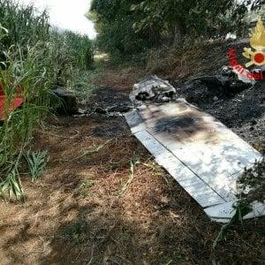 Latina, Cessna precipitato: morti il pilota e un paracadutista
