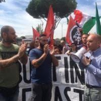 Roma, Tiburtino III. Blitz di CasaPound in municipio:
