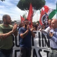 Roma, CasaPound: blitz contro il centro di accoglienza della Cri al municipio IV