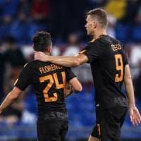 Il ritorno di Florenzi, i gol di Dzeko e il turnover. Roma, tre motivi per