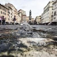 Roma, sparito il nasone di Campo de' Fiori: