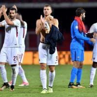 Roma, trionfo Dzeko: