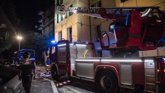 Velletri, palazzina esplode per una fuga di gas: muore uno dei feriti