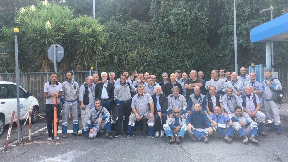 Roma, protesta Italgas: gli operai occupano la sede di Ostiense
