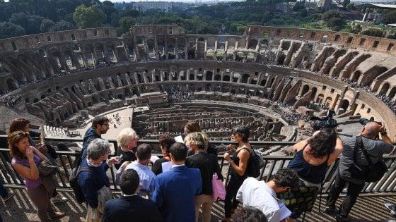 Il Colosseo visto dall'alto: dopo 40 anni riapre l'Attico dell'Anfiteatro Flavio