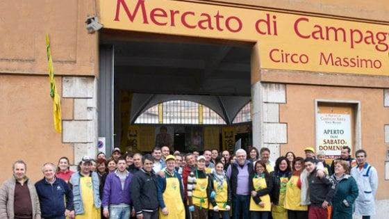 Roma, riapre al Circo Massimo il mercato di Campagna amica