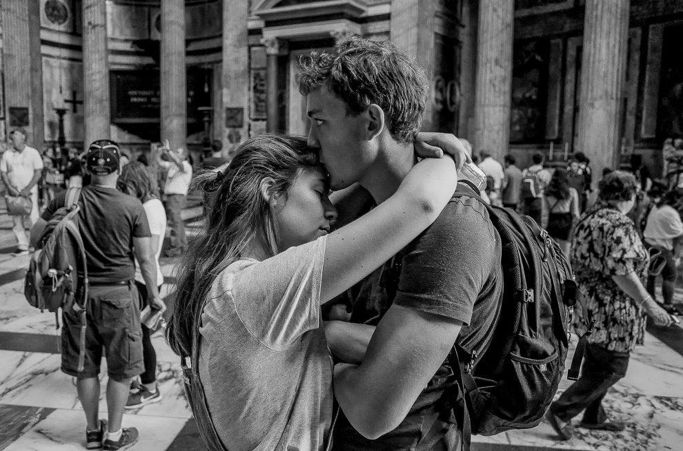 Baci da Roma, istantanee da Termini a Fontana di Trevi