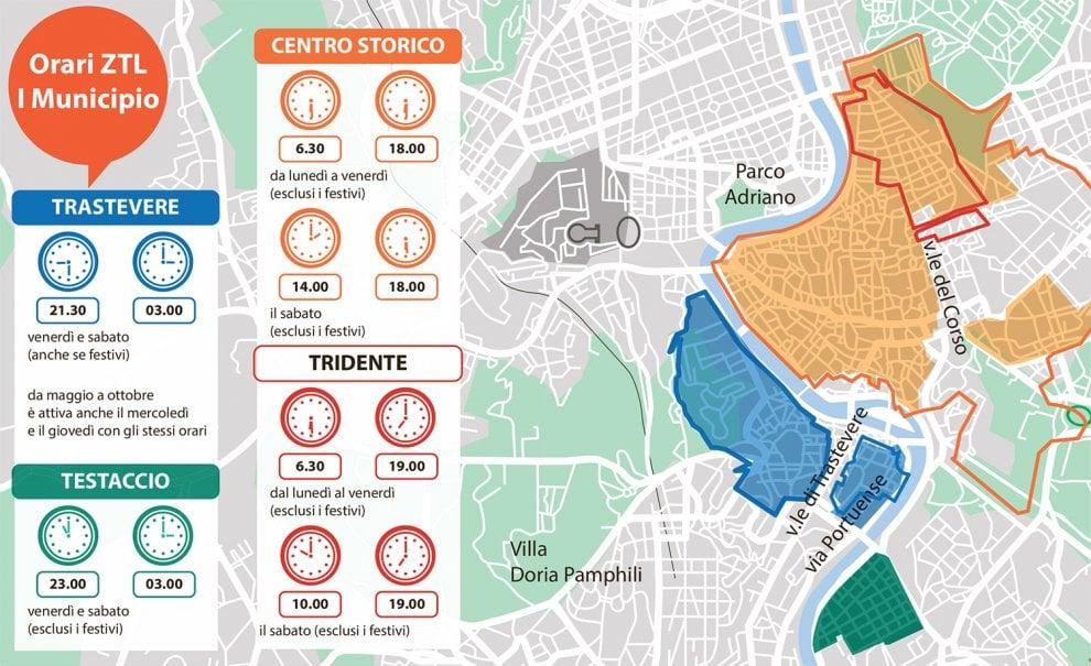 Un ecopass per Roma, ecco la mappa e gli orari