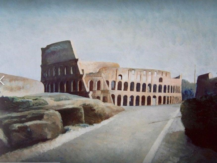 Francesco Trombadori: i nudi, il Campidoglio e i fichi d'India, 60 opere di realismo magico