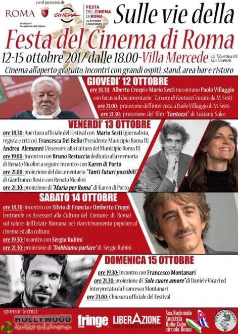 A San Lorenzo sulle vie della Festa del Cinema di Roma