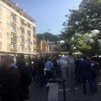 Roma, sit-in di protesta Cotral in Regione: