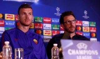 """Champions, Roma, Di Francesco: """"Chelsea? Non firmo per il pari"""""""