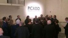 Ospiti d'eccezione  tra le opere di Picasso