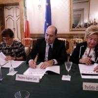 Regione Lazio: firmato patto tra le prefetture: 800mila euro per la sicurezza