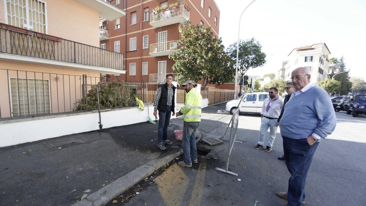 Roma allerta pioggia i condomini di via della farnesina for Immobili c1 roma