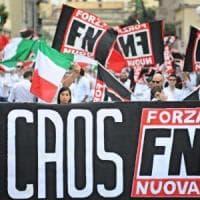Roma, gli arruolati da Forza Nuova: