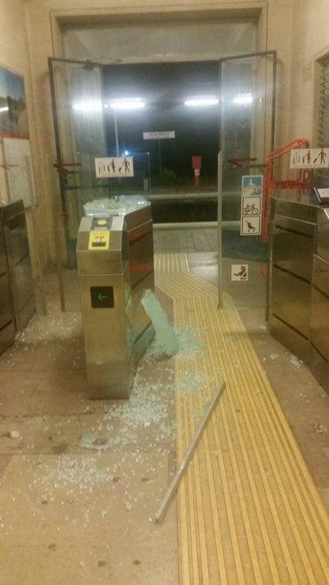 Trasporti Roma, vandalizzata la stazione di Ostia antica
