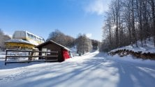 Dal Terminillo al Livata  prima neve sul Lazio