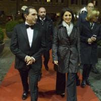Roma, Virginia Raggi e Baryšnikov al teatro dell'Opera per la prima di Don Chisciotte