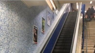 """Metro B, guaste le scale mobili Colosseo Protesta utenti. """"Aspettiamo ricambio"""""""