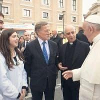 Roma, Presidio sanitario per i poveri in via della Conciliazione: tante