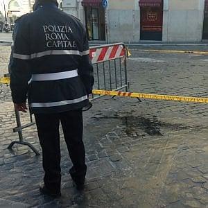 Roma, Ama non interviene più dopo gli incidenti stradali