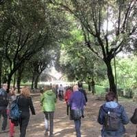 Roma, danneggiata a Villa Pamphili la targa dei partigiani