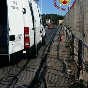 Roma, fuga di gas alla Giustiniana: cavalcavia chiuso al traffico