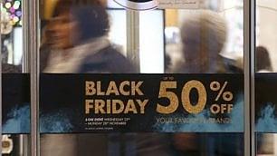 Febbre da Black friday   la riscossa degli sconti