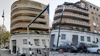Crollo palazzo lungotevere Flaminio un'assoluzione e tre rinvii a giudizio