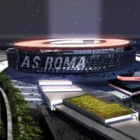 Roma, c'è il parere positivo del Campidoglio sul nuovo stadio dei giallorossi