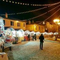 Greccio dà il via ai festeggiamenti natalizi con il caratteristico mercatino