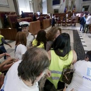 """Roma, Multiservizi in sciopero. I sindacati: """"Bloccare i licenziamenti"""""""