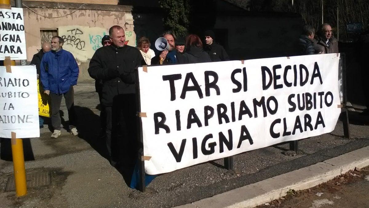 Stazione di vigna clara pressing sul tar un anello per for Immobili c1 roma