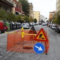 Roma, Appio-Latino si apre una voragine in via Baccarini