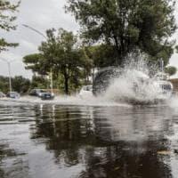 Temporali nel Lazio, allerta meteo per rischio idrogeologico