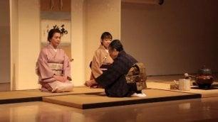 Dal Giappone all'Ara Pacis  vd  in scena la cerimonia del tè