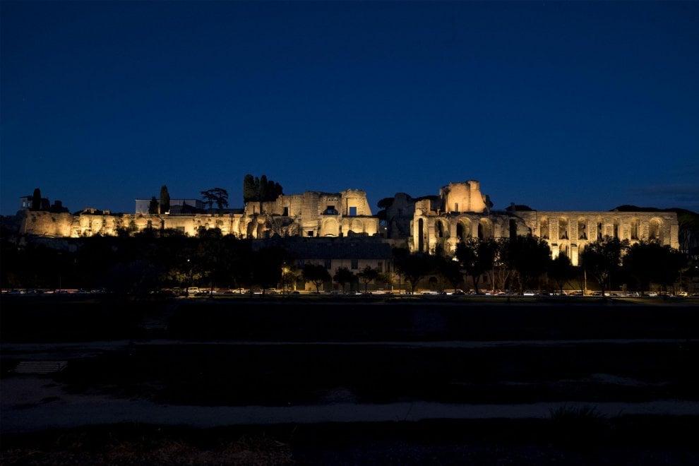 Roma, nuova luce sul Palatino: il colle torna a splendere dopo 13 anni
