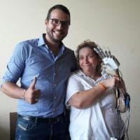 Roma, la prima donna italiana con una mano bionica per restituire senso del tatto