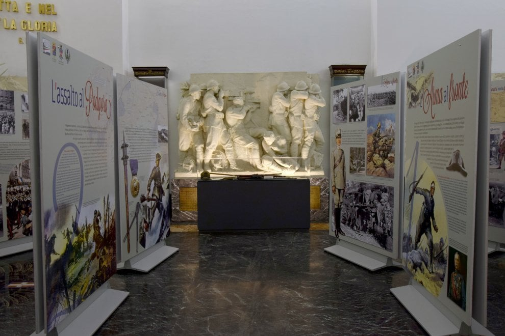 """Roma, al museo storico dell'Arma di Carabinieri, la mostra  """"La grande guerra"""""""