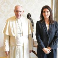 Roma, Palazzo Apostolico: il Papa riceve Raggi e Zingaretti