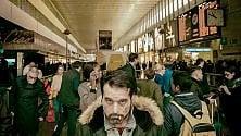 Volti e vite in attesa   scatti da stazione Termini