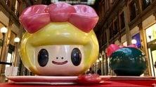 Roma, alla Galleria Sordi le contaminazioni colorate della micro pop art giapponese